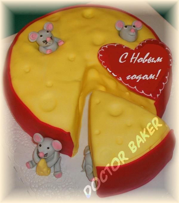 Поделка в виде торта
