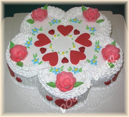 Место торт подруге на день рождения