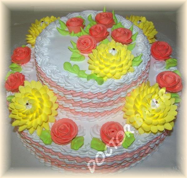 Недорогой торт своими руками