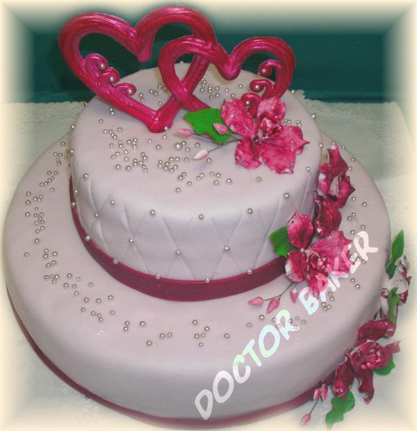Фото тортов для свадебных юбилеев
